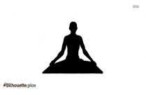 Mandukasana Yoga Clipart,frog Pose Silhouette