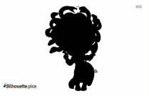 Medusa Cartoon Silhouette Free Vector Art