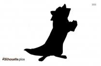 Meeko Disney Silhouette Art