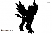 Mega Absol Silhouette Image And Vector