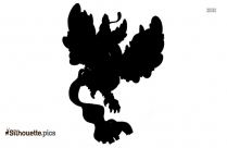 Mega Zoroark Symbol Silhouette