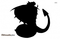 Shiny Eevee Silhouette Image And Vector