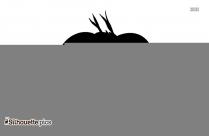 Mega Garchomp Silhouette Background