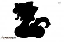 Mega Arbok Silhouette Free Vector Art