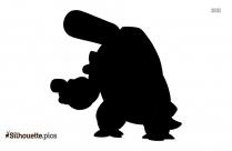 Pokemon Blastoise Silhouette Drawing