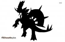 Shiny Mega Aggron Silhouette Image