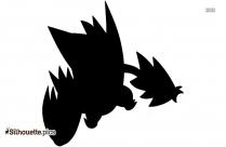 Mega Dragonite Silhouette Art