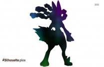 Shiny Arceus Silhouette Clip Art