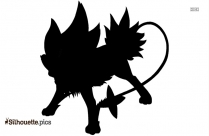 Caterpillar Pokemon Silhouette