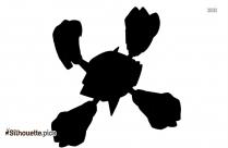 Mega Arbok Silhouette Clipart