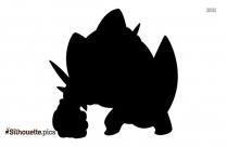 Cartoon Pokemon Latias Silhouette