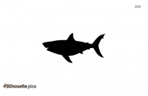 Dolphin Fish Silhouette Art