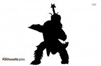 Teen Titans Aqualad Silhouette Free Vector Art