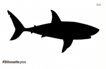 Sheepshead Fish Silhouette Clipart