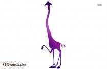 Melman The Giraffe Silhouette Picture
