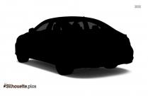 Classic Car Silhouette Icon