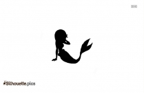 Mermaid Icon Silhouette