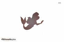 Girl Mermaid Silhouette Image And Vector