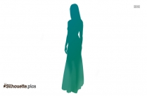Long Gown For Woman Silhouette