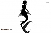 Little Mermaid Princess Silhouette