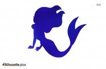 Mermaid Drawing Silhouette Illustration