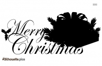 Christmas Border Silhouette Image And Vector