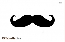 Mexican Moustache Silhouette