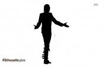 Dance Pose Silhouette Free Vector Art