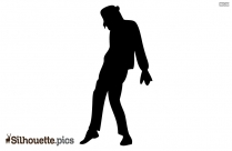 Michael Jackson Silhouette Vector Free
