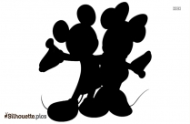 Mickey Mouse Silhouette Art