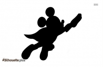 Disney Mouse Silhouette Free Vector Art