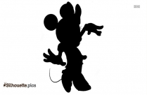 Disney Mickey Mouse Silhouette Illustration