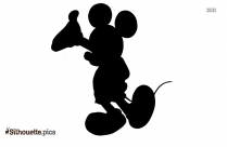Mickey Mouse Silhouette Background Image
