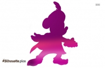Mickey Mouse Disney Silhouette Illustration