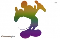 Cartoon Kangaroo Silhouette Image