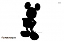 Mickey Mouse As A Superhero Silhouette Vector And Graphics