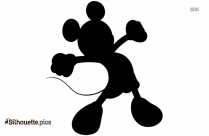 Mickey Mouse Disney Silhouette