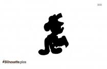 Mickey Newspaper Reporter Clip Art