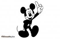Disney Mickey Silhouette Pic