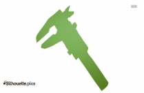 Micrometer Symbol Silhouette Image And Vector