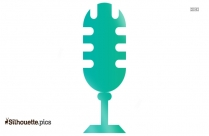 Microphone Silhouette Picture
