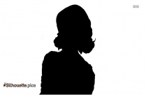 Miley Cyrus Silhouette Drawing