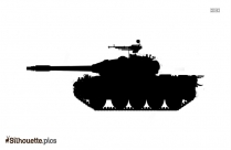 Military Weapon Silhouette Clipart
