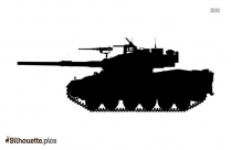Panther Tank Silhouette Clipart