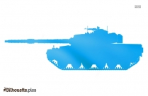 Military Tanks Silhouette Clipart