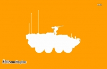 Military Vehicle Silhouette