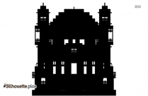 House Silhouette Image And Vector