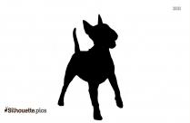 English Shepherd Dog Vector Image Silhouette