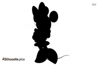 Happy Mickey Mouse Silhouette