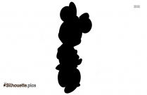 Minnie Mouse Png Silhouette